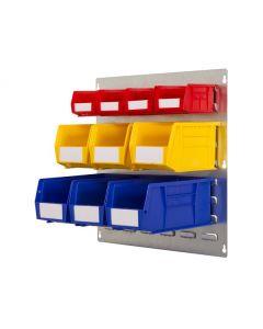 HPBWKP - 500h x 500w 10 Bin Wall Kit